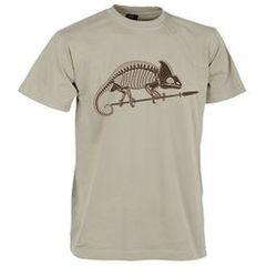 t-shirt Helikon szkielet kameleona khaki (TS-SKC-CO-13)