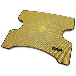 Podstawka chłodząca OMEGA do laptopa 14 cali Fridge (42196) Żółty