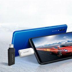 Mini mobilny sterylizator lampa UV UVC do telefonu ze złączem Lightning OTG biały