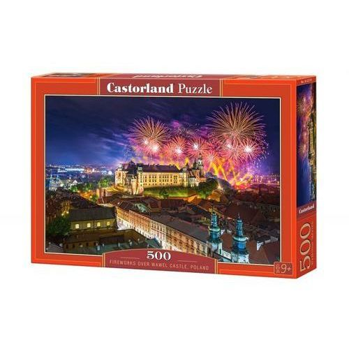 Puzzle, Puzzle Fireworks over Wawel Castle, Poland 500 - Castor