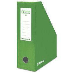 Pojemnik na dokumenty DONAU, karton, A4/100mm, lakierowany, zielony
