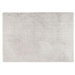 Dywan shaggy HARVEY z mikrofibry – poliester – kolor biały – 160 × 230 cm