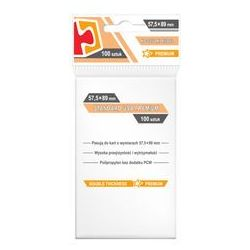 "Koszulki na karty Rebel (57,5x89 mm) ""Standard USA Premium"", 100 sztuk"