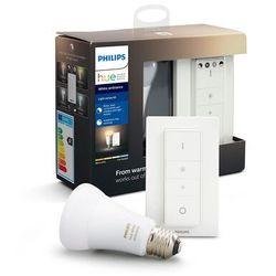 Zestaw oświetleniowy PHILIPS HUE White ambiance A19 E27 8,5W Bluetooth Zigbee
