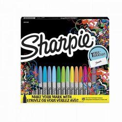 Markery Sharpie Fine 12-kol. + Torba sportowa (SHP-2079804)