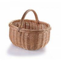 Koszyki, Kosz wiklinowy na zakupy grzyby trzy krańce PT