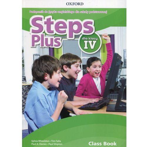 Książki do nauki języka, Steps Plus 4 Podręcznik z płytą CD - Sylvia Wheeldon, Falla Tim, Paul A. Davies (opr. miękka)