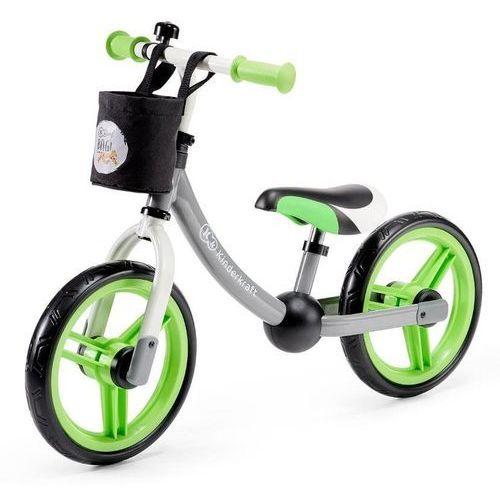 Rowerki biegowe, Kinderkraft Rowerek Biegowy 2Way Next Green + akc. - KKR2WNXGRE00AC