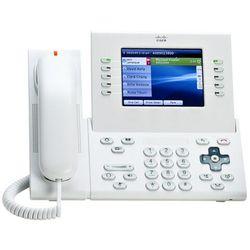 CP-9971-W-K9 Nowy telefon IP Phone 9971, 802.11a/b/g Wi-Fi, Bluetooth, Radio & 2 USB, Standard Handset, White
