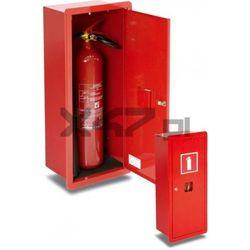 Szafka ochronna GP-600 na 1 gaśnicę - wnękowa (GP-4x, GP-6x, GS-2x lub UGS-2x)