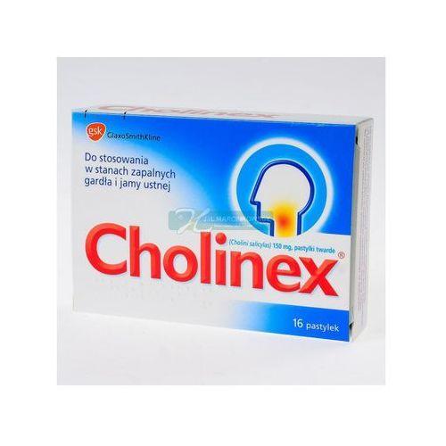 Leki na gardło, Cholinex x 16 pastylek