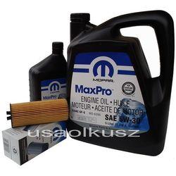 Olej MOPAR 5W30 oraz oryginalny filtr Dodge Caravan 3,6 V6 -2013