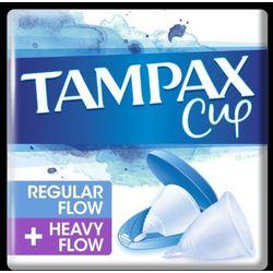 Tampax kubeczek menstruacyjny Multipack Normal Flow + Heavy Flow 2 szt.