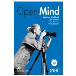 Open Mind Beginner. Ćwiczenia z Kluczem + CD (opr. miękka)