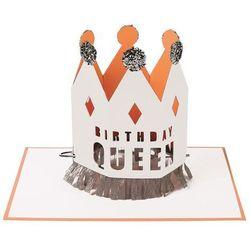 Kartka okolicznościowa 3D Meri Meri - Birthday Queen 144010