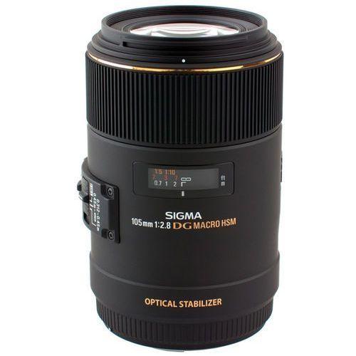 Obiektywy fotograficzne, Obiektyw SIGMA 105/2.8 APO EX DG OS HSM MACRO (Canon EF)
