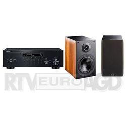 Yamaha MusicCast R-N303D (czarny), Indiana Line Nota 260 X (orzech) - produkt w magazynie - szybka wysyłka! Darmowy transport od 99 zł | Ponad 200 sklepów stacjonarnych | Okazje dnia!