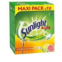Kostki do zmywarek, Unilever SUNLIGHT Tabletki do zmywarek (667656) Darmowy odbiór w 20 miastach!