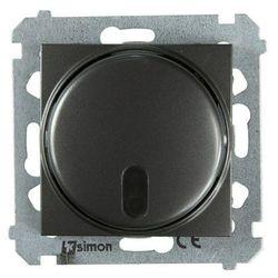 Ściemniacz naciskowy Simon 54 DS13T.01/48 zdalnie sterowany antracyt Kontakt-Simon