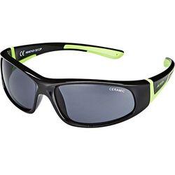 Alpina Flexxy Okulary rowerowe Dzieci, black-green 2019 Okulary przeciwsłoneczne dla dzieci Przy złożeniu zamówienia do godziny 16 ( od Pon. do Pt., wszystkie metody płatności z wyjątkiem przelewu bankowego), wysyłka odbędzie się tego samego dnia.
