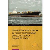 E-booki, Odpowiedzialność cywilna za szkody spowodowane zanieczyszczeniem olejami ze statku