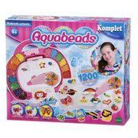 Kreatywne dla dzieci, Aquabeads Kuferek artysty 1200 koralików *