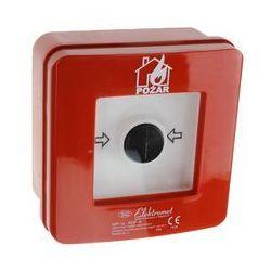 Ręczny ostrzegacz pożarowy ELEKTROMET NC-NO IP65 WP-1s ROP A 921400