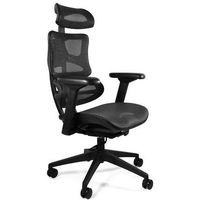 Fotele i krzesła biurowe, Fotel biurowy ergonomiczny UNIQUE ERGOTECH CM-B137A-4 - WYSYŁKA 24h - ZŁAP RABAT: KOD100