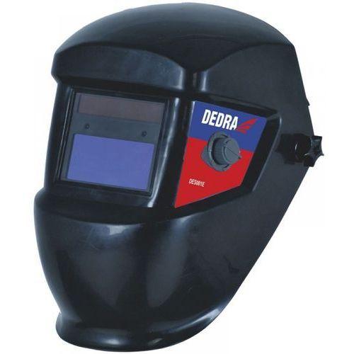Akcesoria spawalnicze, DEDRA DES001E Przyłbica spawalnicza 92x42mm