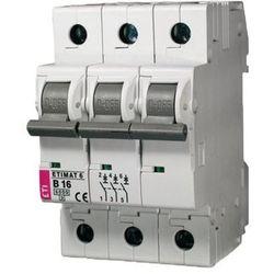 ETI Wyłącznik nadprądowy ETIMAT6 3-polowy 6kA C 16A 002145516