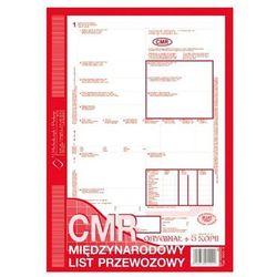 Druk CMR międzynarodowy list przewozowy A4 (o+5k) 78 kartek Michalczyk i Prokop 800-3