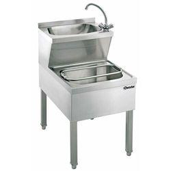 Bartscher Stół z basenem do mycia rąk ze zlewem - kod Product ID