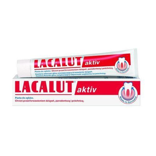 Pasty do zębów, Lacalut Aktiv pasta do zębów 75ml
