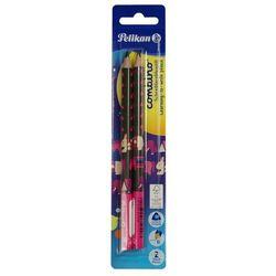 Ołówek Combino pink BL 2szt