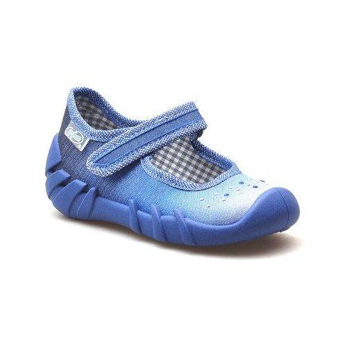 Obuwie domowe dziecięce, Kapcie dziecięce Befado 109P186 Niebieskie