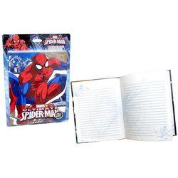 Pamiętnik ze światełkami LED Spiderman