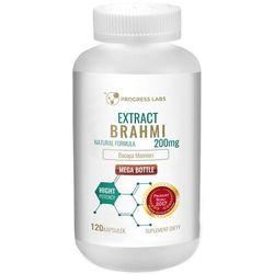 Brahmi-Bacopa Monnieri 200mg Extract 20:1 120 kaps pamięć koncentracja - Best Store