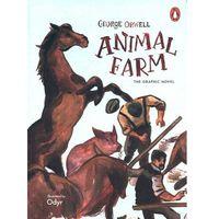 Książki do nauki języka, Animal Farm. The graphic novel - Orwell George, Odyr - książka (opr. miękka)