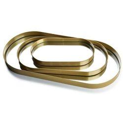 LUCAS GOLD Kpl. 3 tac lustrzanych