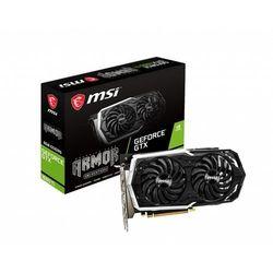 MSI Karta graficzna GeForce GTX 1660 Ti ARMOR 6G OC [GEFORCE GTX 1660 TI ARMOR 6G OC]