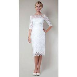 Krótka suknia ślubna ciążowa Amelia