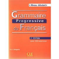 Książki do nauki języka, Grammaire Progressive Du Francais Niveau Debutant Książka Z Cd 2 Edycja (opr. miękka)