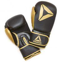 Rękawice do walki, Rękawice bokserskie Reebok Złote/Czarne RSCB-11117GB