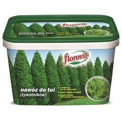 Florovit Nawóz do tui (żywotników) 4kg wiaderko