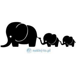 Słonie naklejka na samochód naklejka na auto
