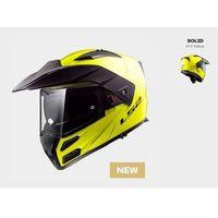Kaski motocyklowe, KASK LS2 FF324 METRO EVO SOLID GLOSS HI-VIS YELLOW - model: Rok 2018!