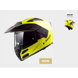 KASK LS2 FF324 METRO EVO SOLID GLOSS HI-VIS YELLOW - model: Rok 2018!