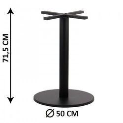 Podstawa stolika SH-2010-3/B, fi 50 cm, (stelaż stolika), kolor czarny