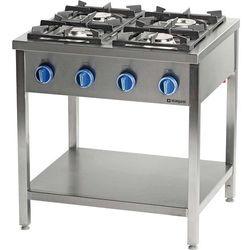 Kuchnia gazowa wolnostojąca z półką 24,5 kW STALGAST 999543