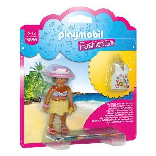 Klocki dla dzieci, Playmobil FASHION GIRLS Plaża 6886 wyprzedaż